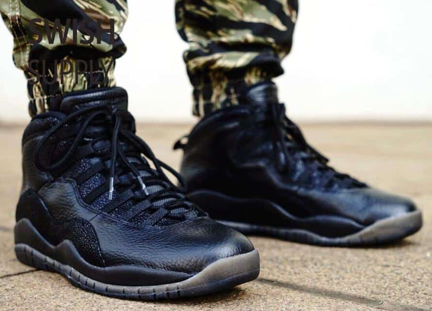 Nike Air Jordan 10 OVO Black 2016