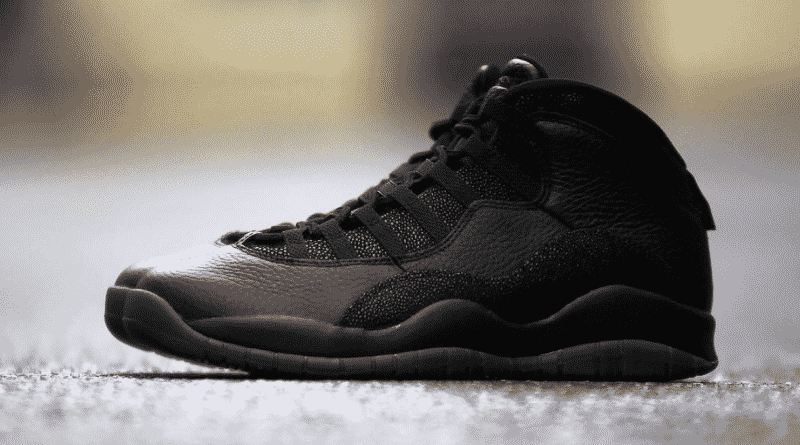 Nike Air Jordan 10 Retro OVO Black by Drake