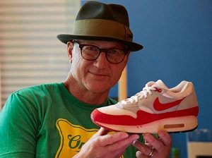 Tinker Hatfield et sa Nike Air Max 1