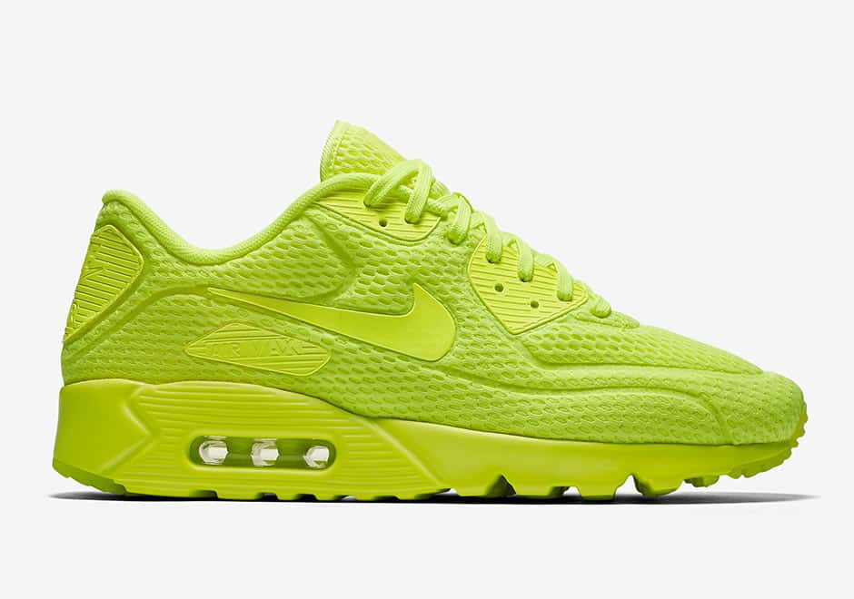 Nike Air Max 90 Ultra BR ''Volt'' - 725222-700 - Sneaker Style