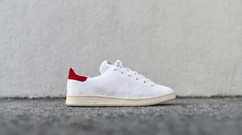 adidas Stan Smith Primeknit red