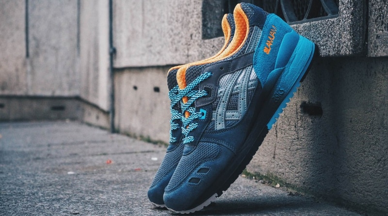 Slam Jam X ASICS Gel Lyte III 6TH PRLL