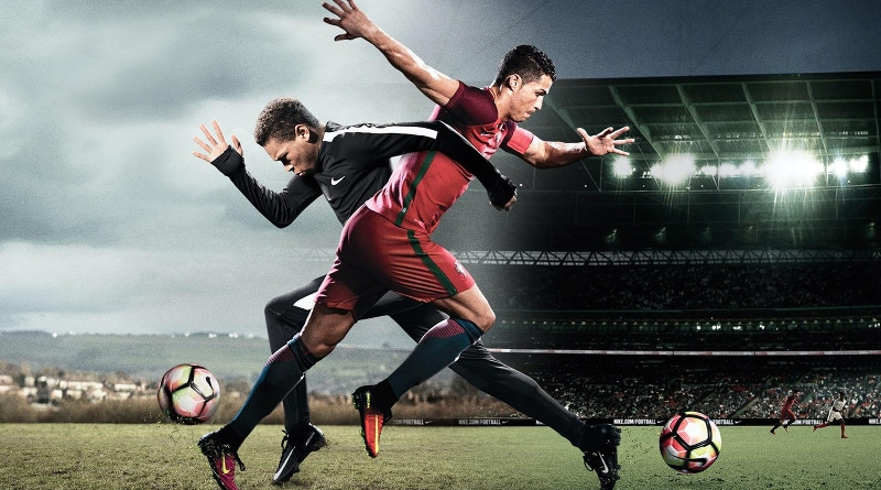 Cristiano Ronaldo dans la pub Nike The Switch