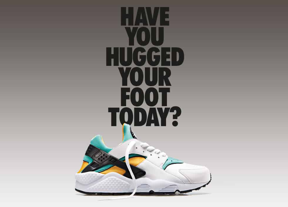 Have you hugged your foot today ?