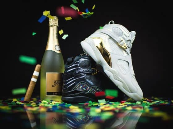 "Jordan 8 ""Cigar and Champagne"" pack"