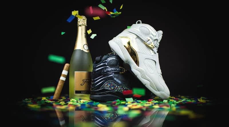 """Jordan 8 """"Cigar and Champagne"""" pack"""