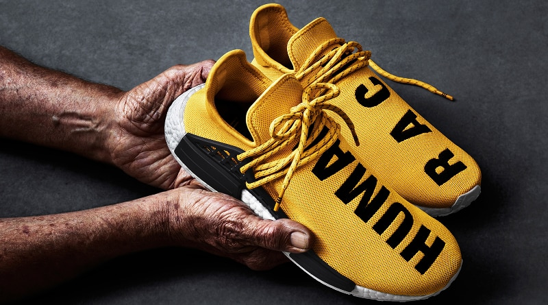 "adidas X Pharrell ""Human Race"" yellow"