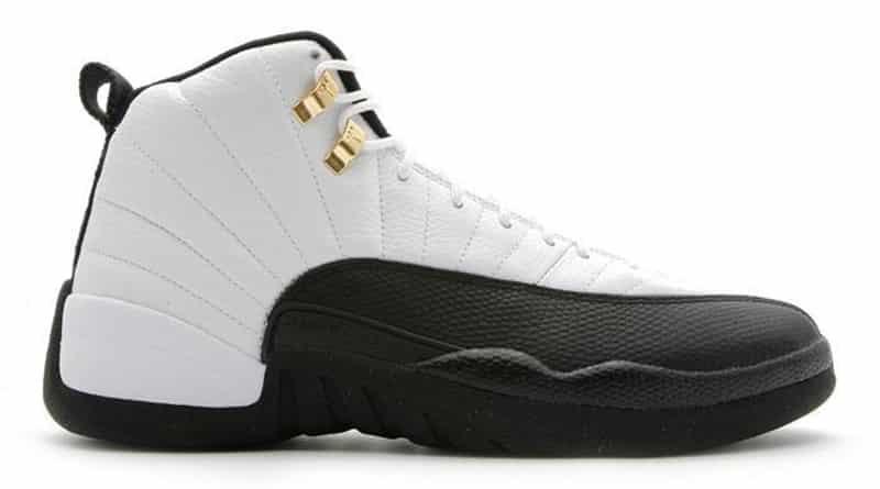 La Air Jordan 12, ici dans a réédition de 2008