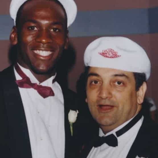 Michael Jordan et Sonny Vaccaro
