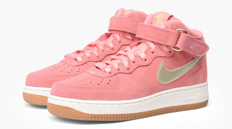 Nike Air Force 1 Bright Melon Metallic Gold