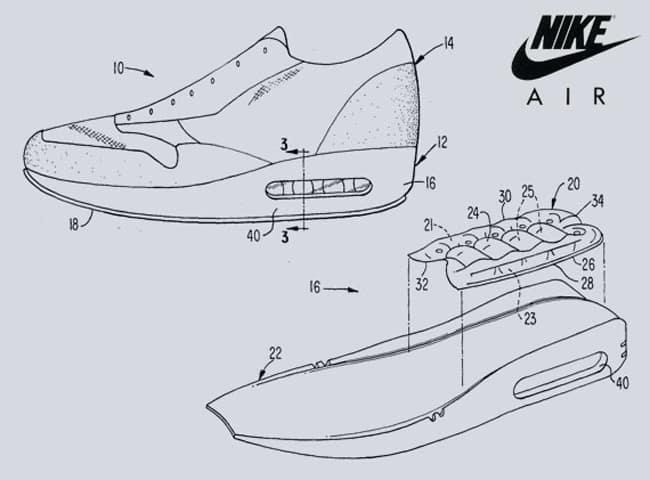 Croquis Nike Air Max 1