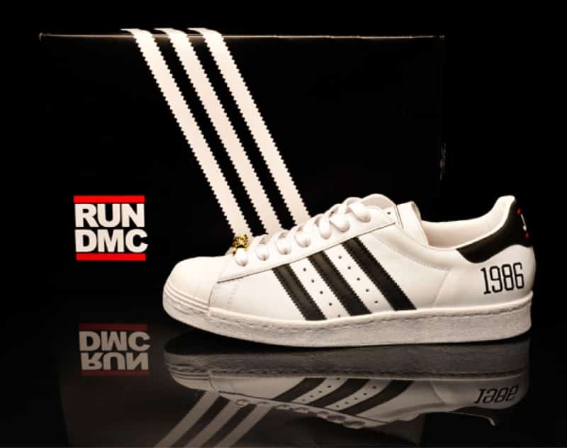 Les Superstar de 1986 à l'effigie de Run D.M.C.