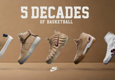 Nike dévoile son pack «5 decades of basketball» pour le NBA All-Star Game 2017