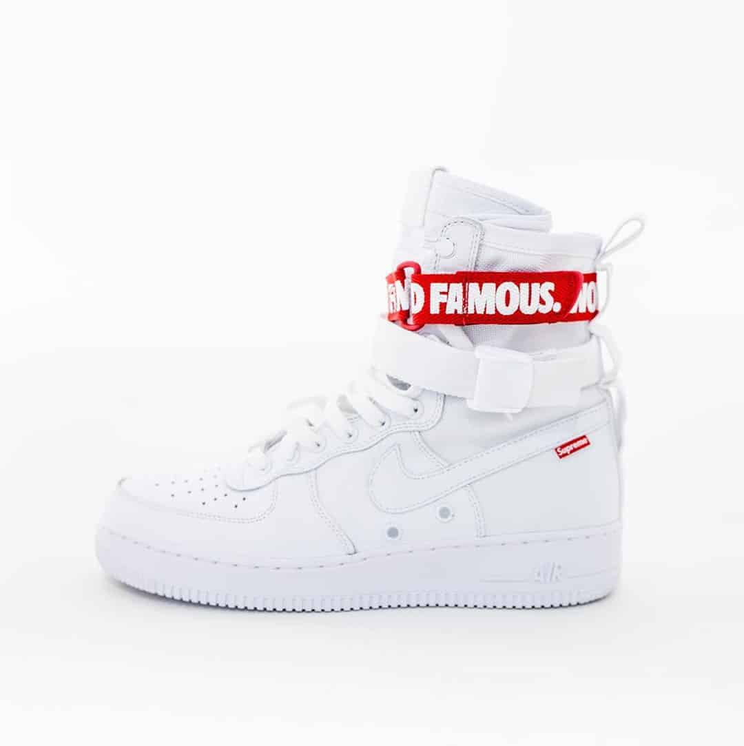 Supreme x Nike Special Field Air Force 1 Sneaker Style