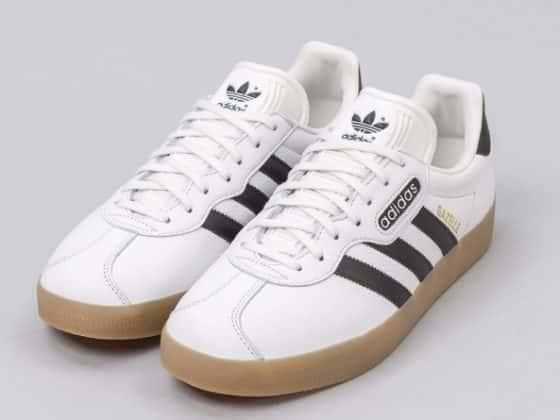 adidas Gazelle Super Vintage blanche et noire