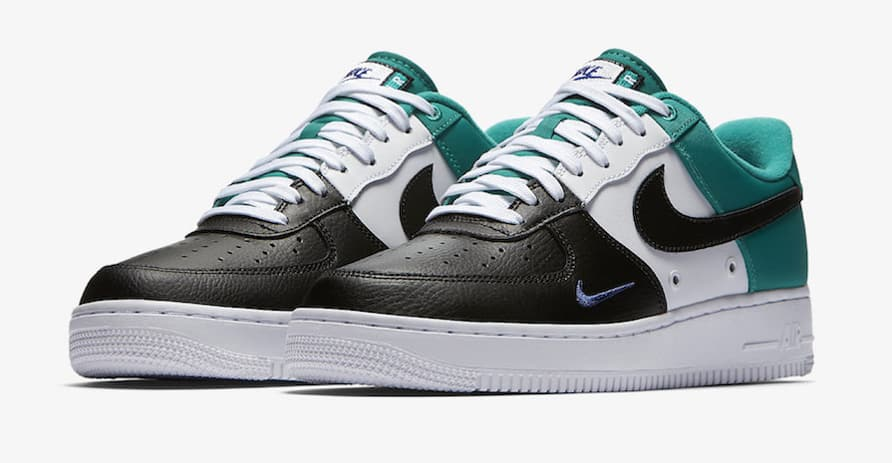 Nike Air Force 1 Mini Swoosh Neptune Green