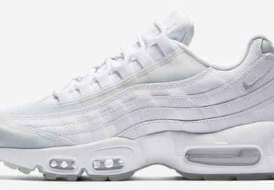 Fondez pour la Nike Air Max 95 White Ice !