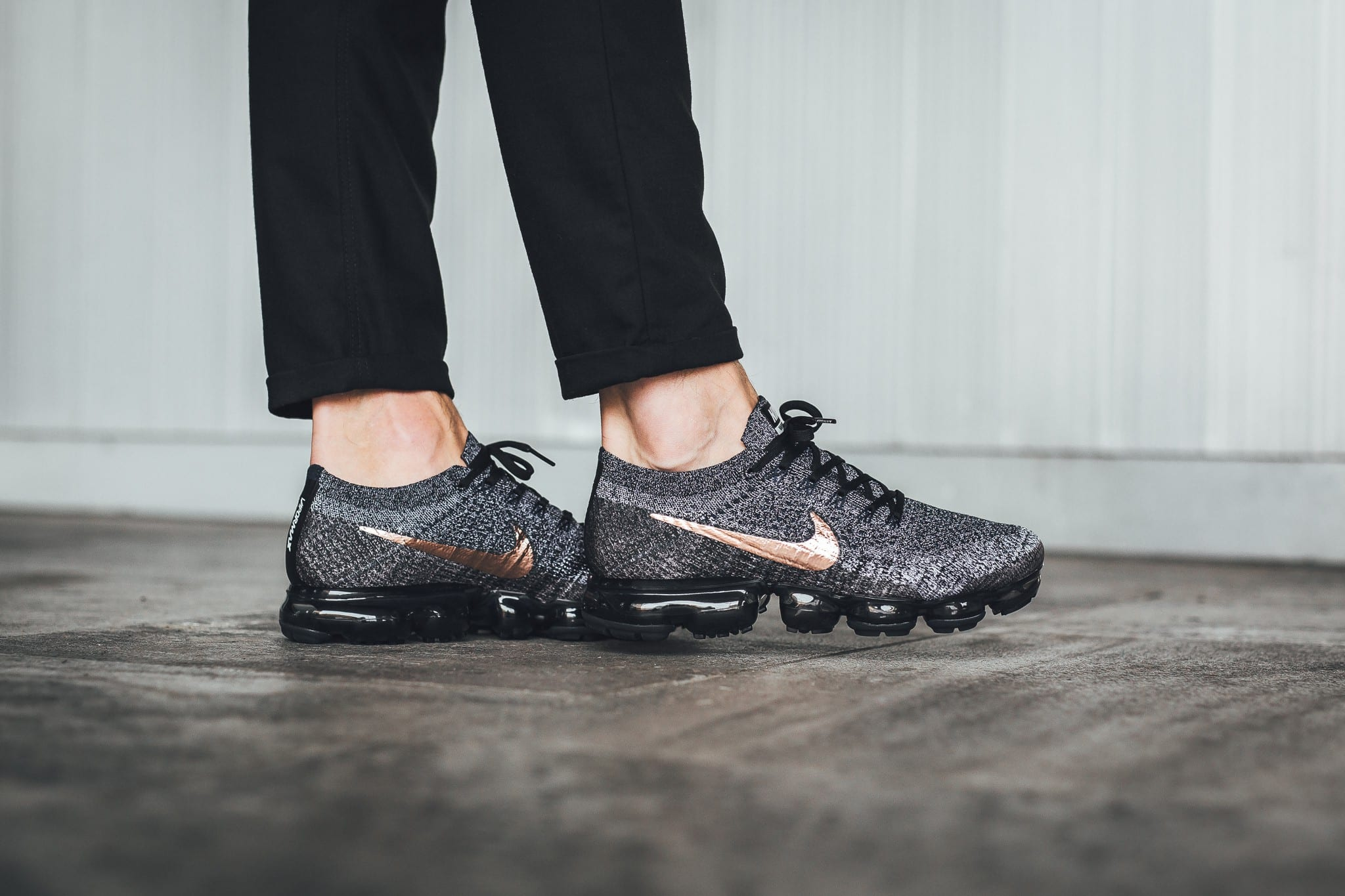 Nike Air VaporMax black/grey