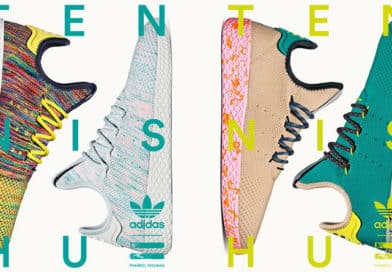 Zoom sur la adidas Tennis Hu, première chaussure signature de Pharrell Williams