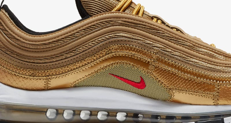 Nike Air Max 97 CR7 Golden Patchwork