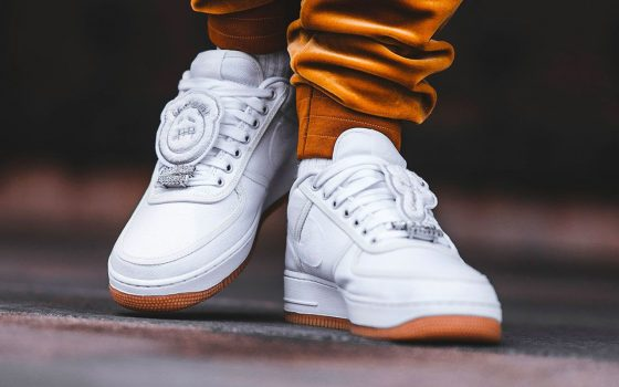 Travis Scott x Nike Air Force 1 Low ''White'' - AQ4211-100