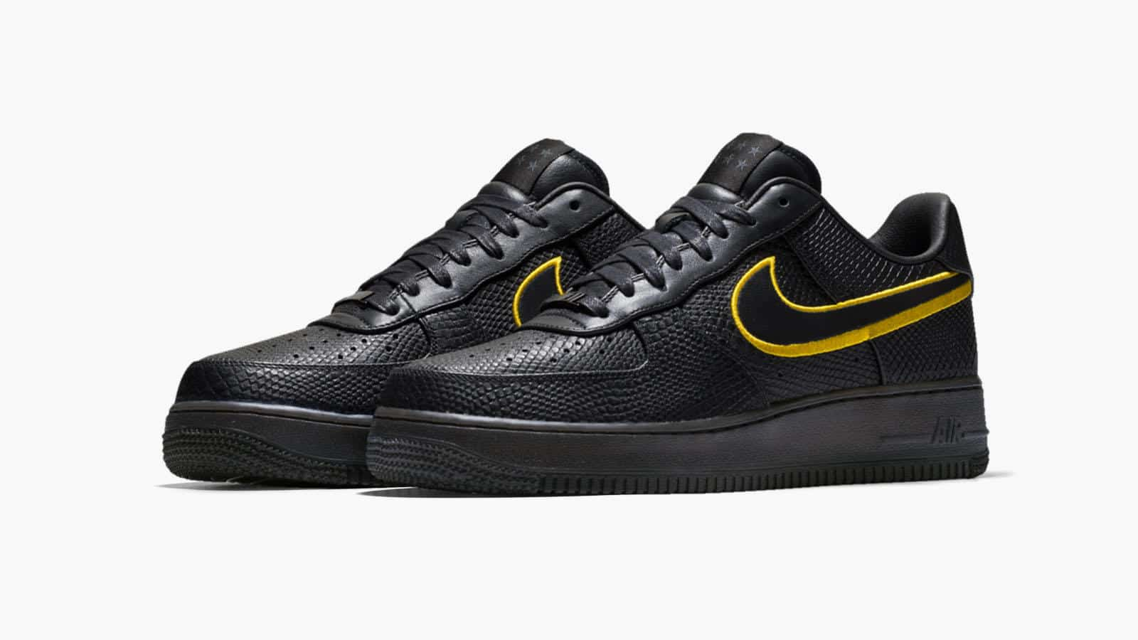 Nike Air Force 1 Low Black Mamba, l'ultime hommage à Kobe