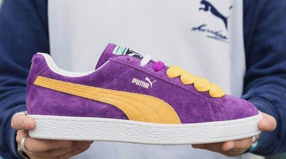 """PUMA Classic Suede Lakers """"Made in Japan"""""""