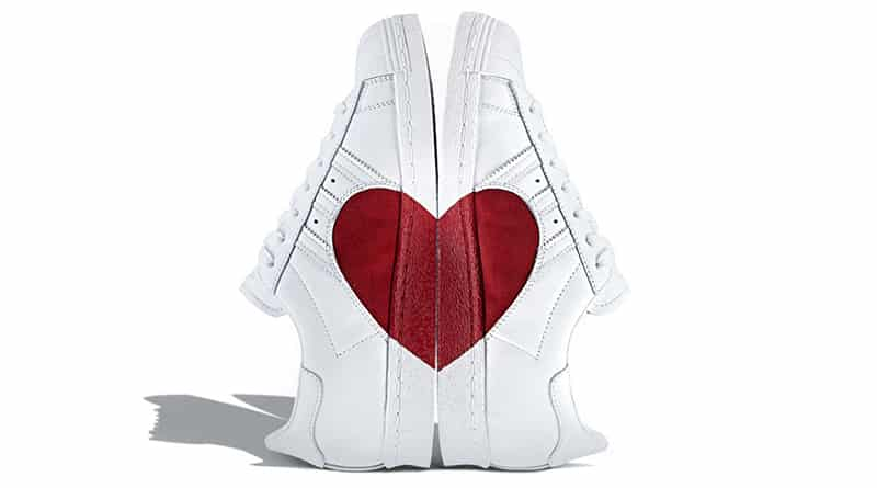 adidas Superstar 80s Half Heart