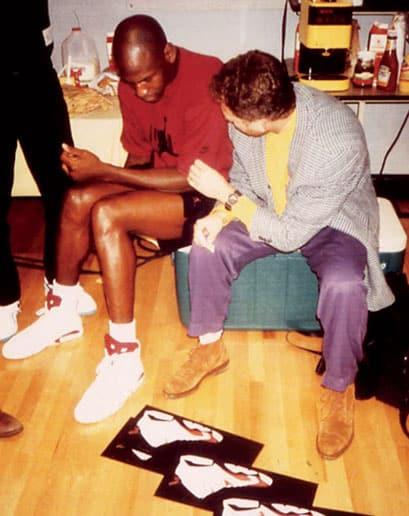 Michael Jordan et Tinker Hatfield