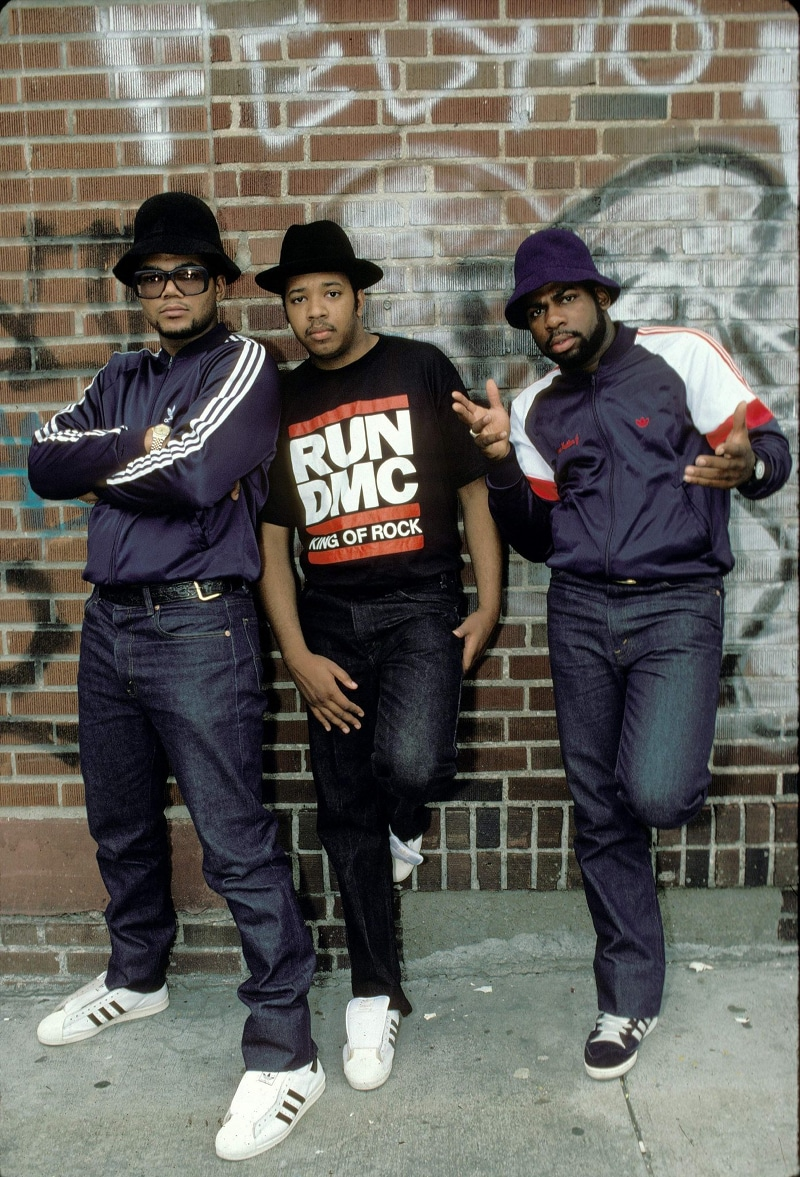 Les rappeurs du groupe Run-DMC