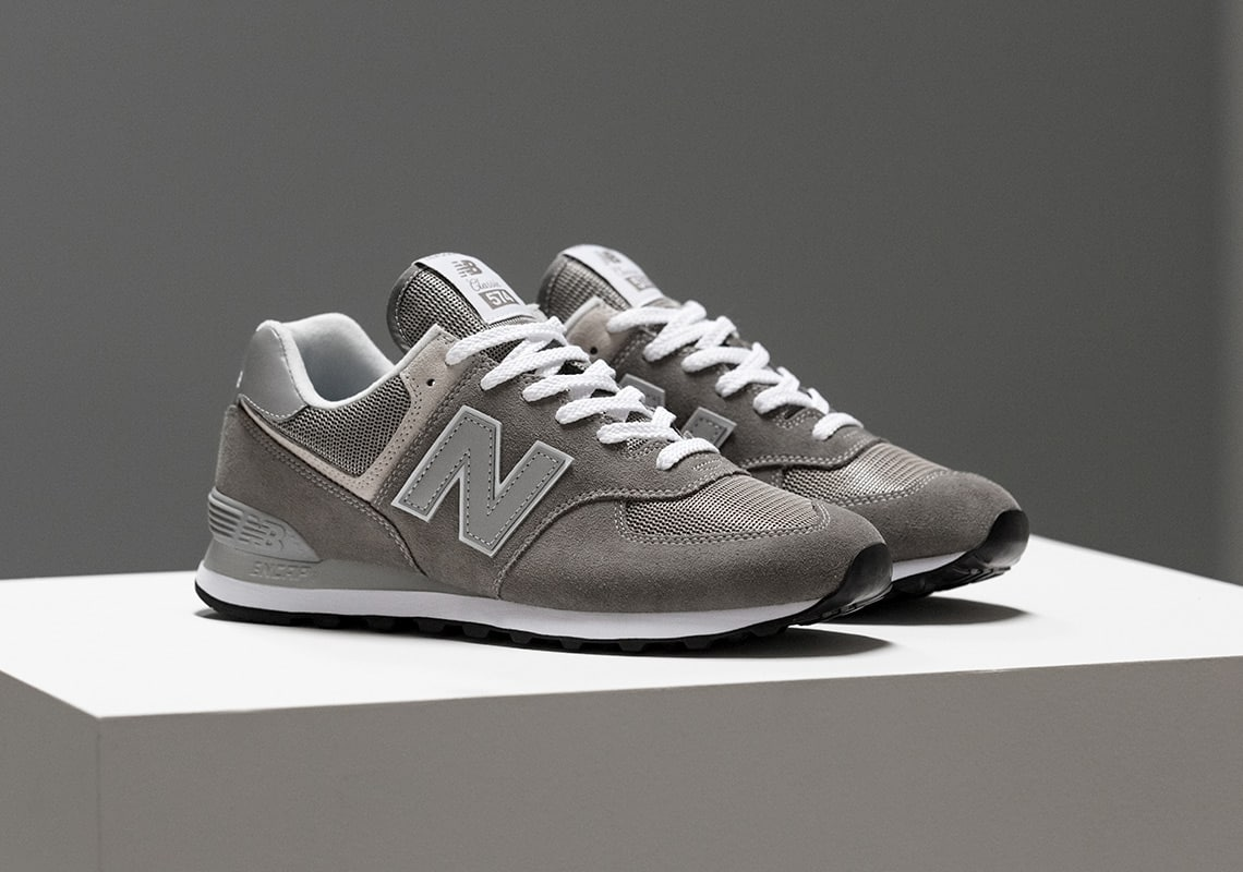 "NB 574 ""Classic Grey"""