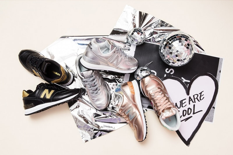 "New Balance 574 ""Glitter Punk"" Pack"