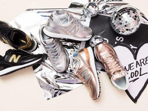 """New Balance 574 """"Glitter Punk"""" Pack"""