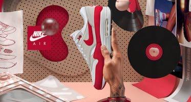 NikeAir Max 1 Anniversary ''Red''