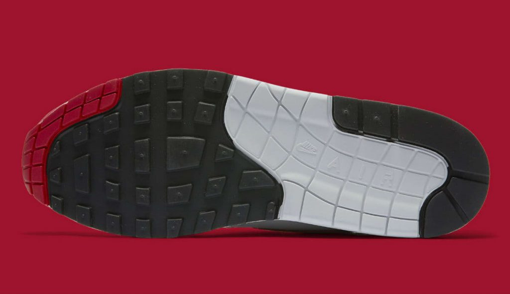 """Nike Air Max 1 """"Anniversary"""" White/University Red"""