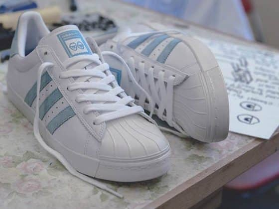 "Krooked x adidas Superstar Vulc ""Gonz and Roses"""