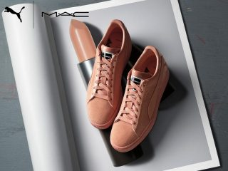 MAC Cosmetics x PUMA Suede 50th Anniversary