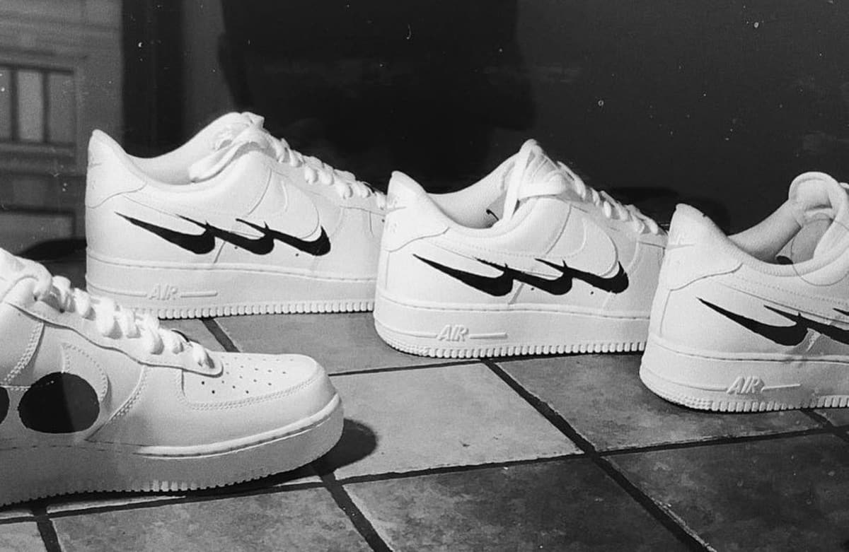 Nike Air Force 1 Swedish House Mafia by Virgil Abloh