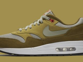 atmos x Nike Air Max 1 Green Curry