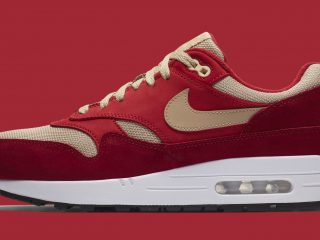atmos x Nike Air Max 1 Red Curry