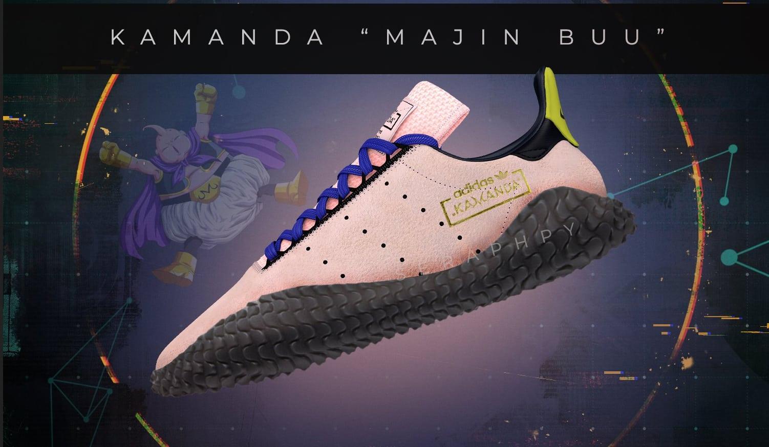 Dragon Ball Z x adidas Kamanda Majin Buu