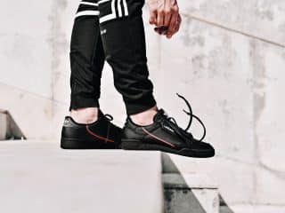 adidas Continental 80 noire
