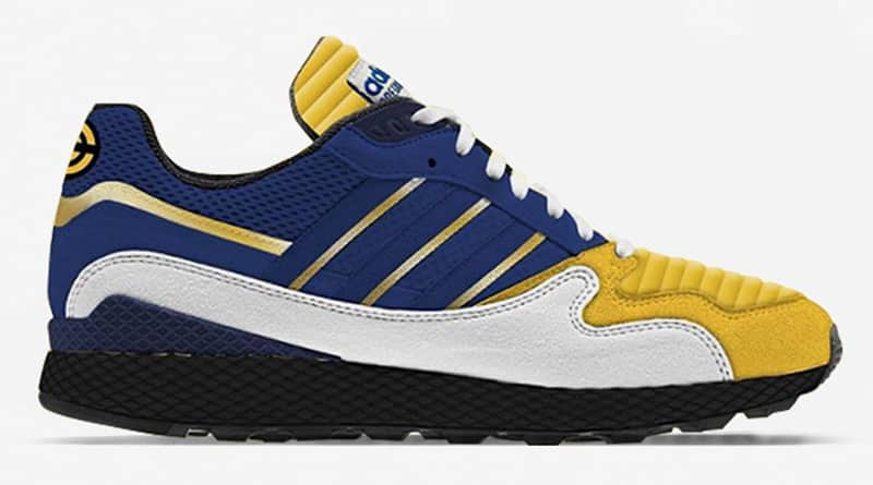 Dragon Ball Z x adidas Oregon Ultra Tech Vegeta