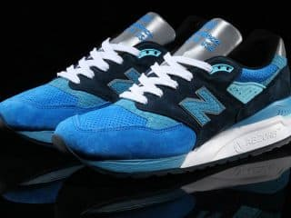 New Balance 998 Blue/Navy