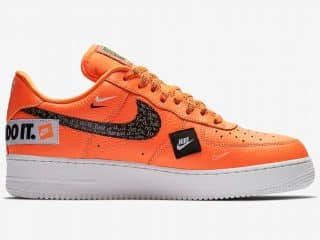"Nike Air Force 1 ""Just Do It"" Orange"