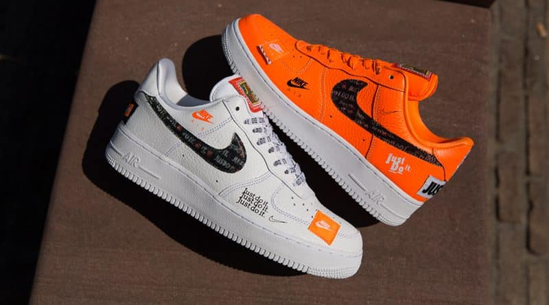 Nike Air Force 1 ''Just Do It'' Pack Sneaker Style