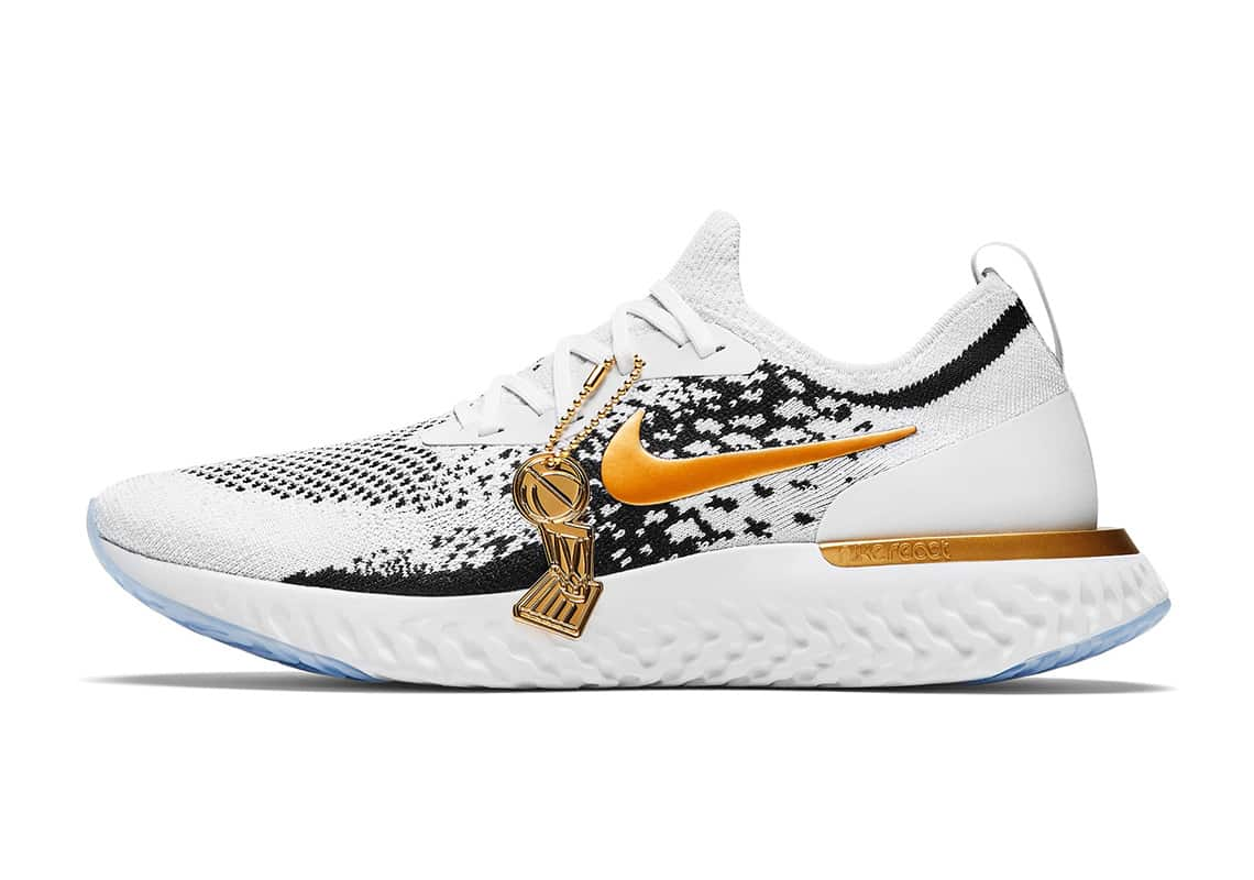 Nike React Epic Flyknit Golden State Warriors PE