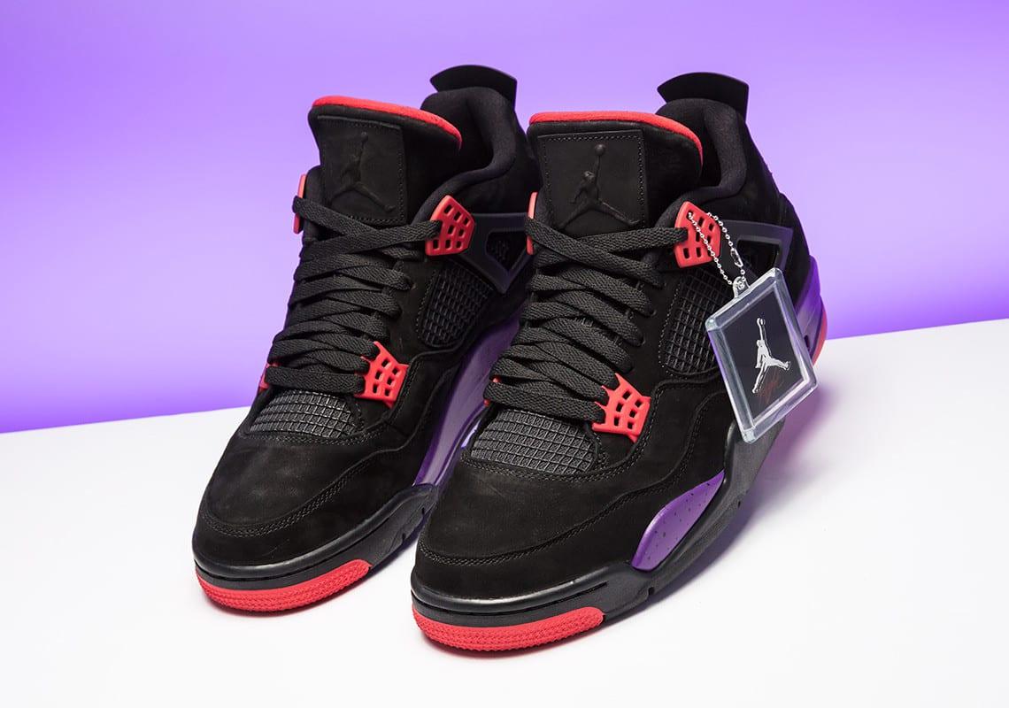 Zoom sur la Air Jordan 4 Retro NRG ''Raptors'' Sneaker Style
