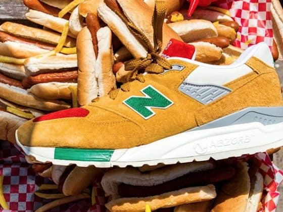 J.Crew x New Balance 998 « Hot Dog Condiments »
