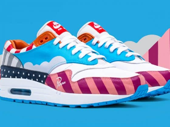 Parra x Nike Air Max 1 Pure Platinum